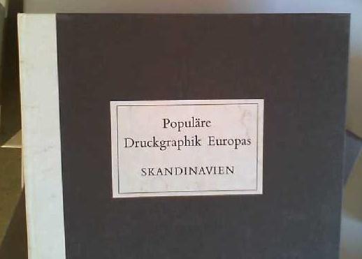 Populäre Druckgraphik Europas Skandinavien vom 15. bis: Clausen, V. E.: