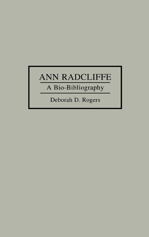 Ann Radcliffe - Rogers, Deborah