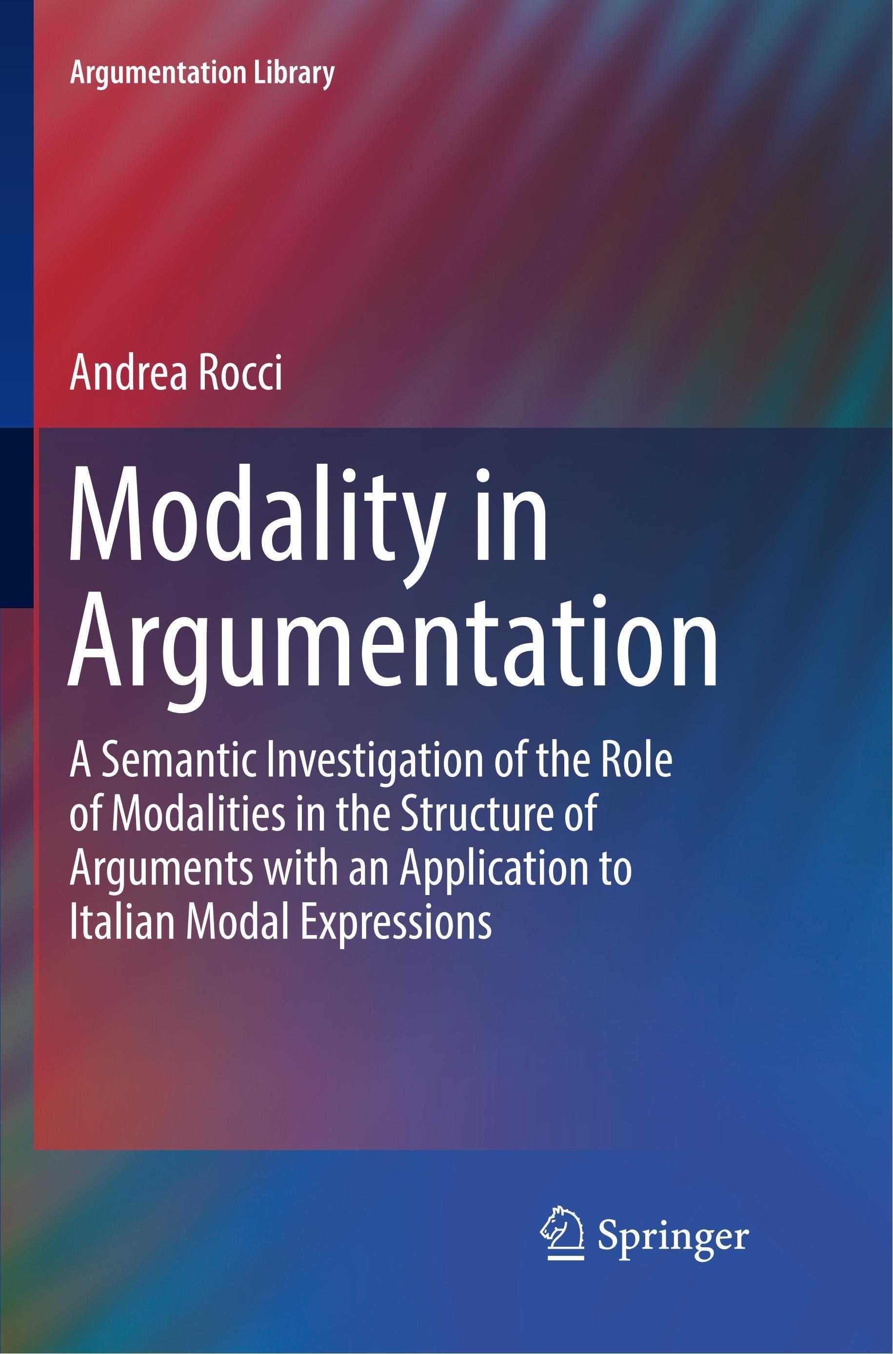 Modality in Argumentation - Andrea Rocci