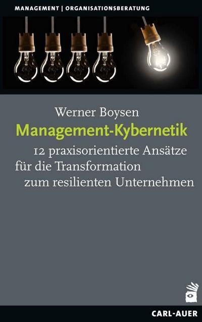 Management-Kybernetik : 12 praxisorientierte Ansätze für die: Werner Boysen