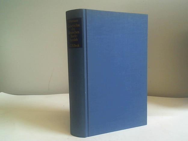 Geschichte des deutschen Buchhandels. Ein Überblick: Wittmann, Reinhard