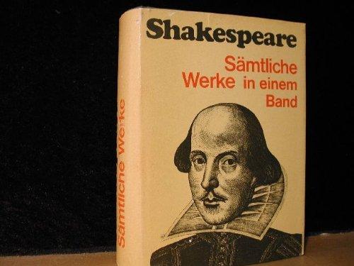 Sämtliche Werke in einem Band: William, Shakespeare und