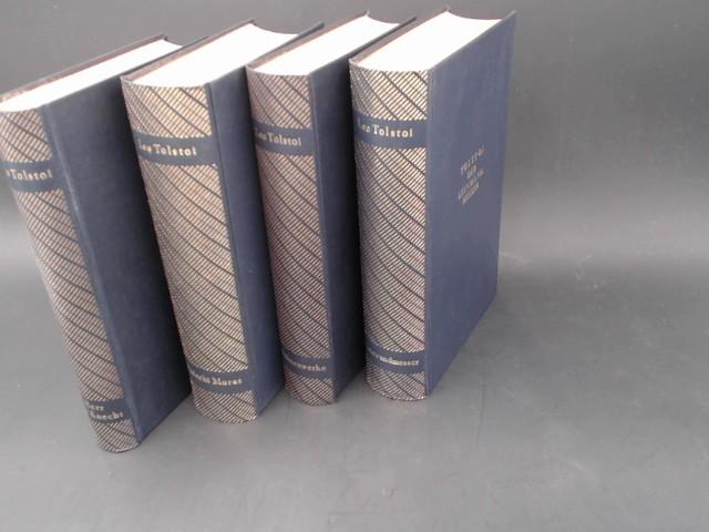 4 Bücher zusammen - 1) Der Leinwandmesser: Tolstoi, Leo: