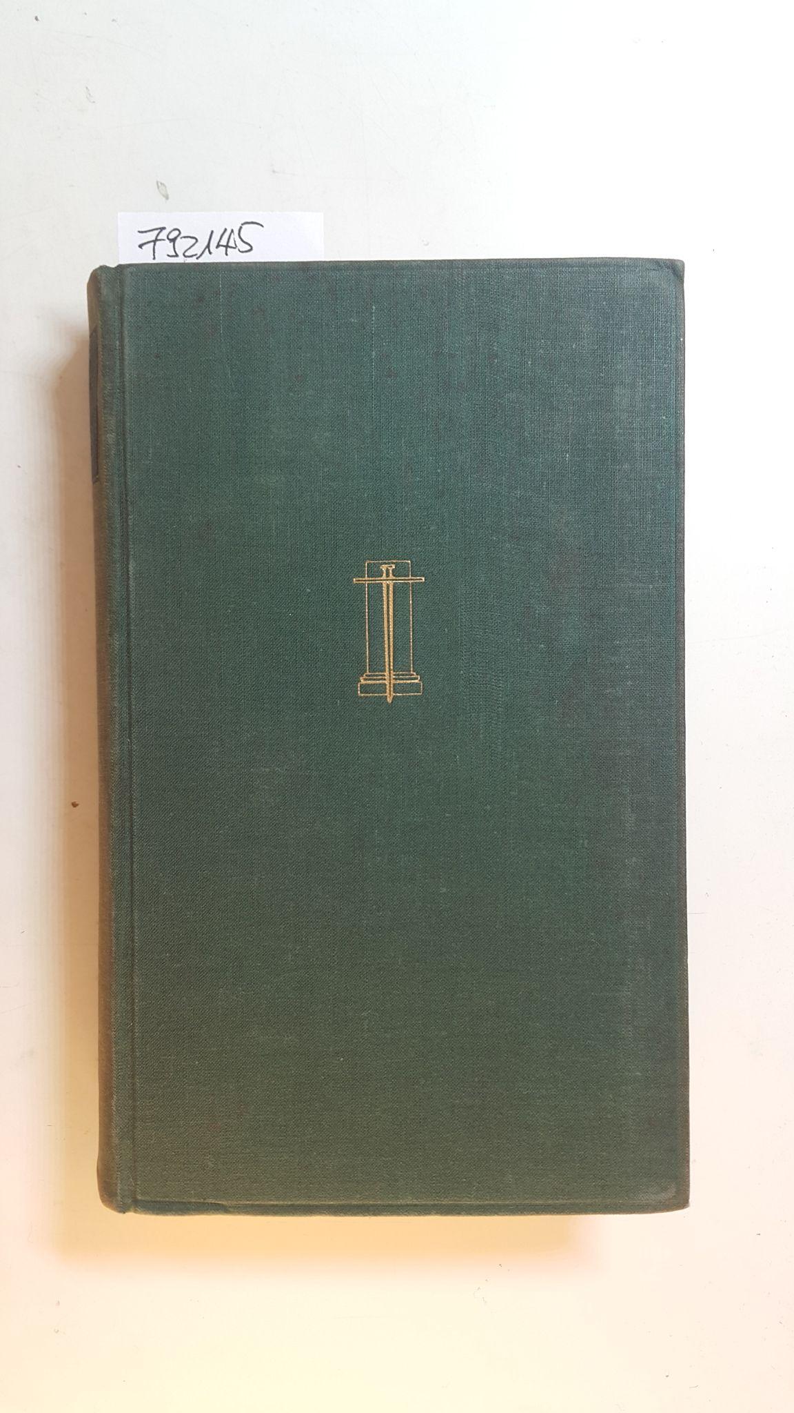 Ursprung und Aufbau des lebendigen Kosmos - Conrad-Martius, Hedwig