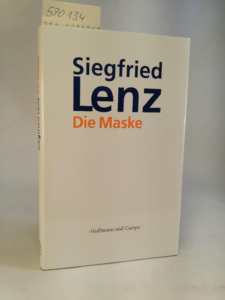 Die Maske. [Neubuch]: Lenz, Siegfried: