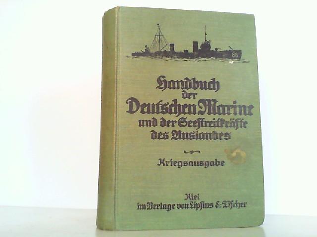 Handbuch der Deutschen Marine und der Seestreitkräfte: Kaiserliche Marine: