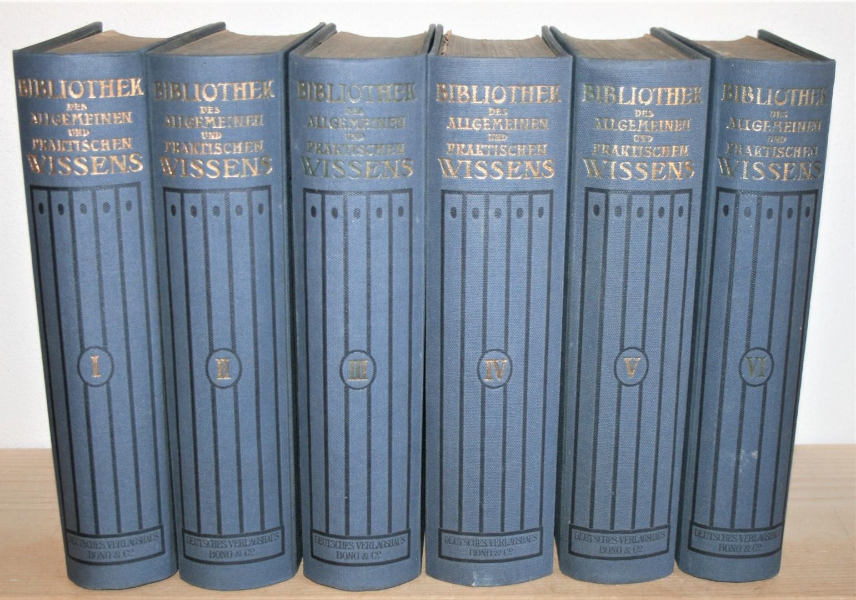 Bibliothek des allgemeinen und praktischen Wissens. Zum: Müller-Baden, Emanuel: