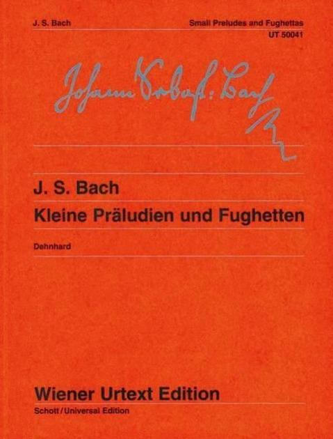 Kleine Präludien und Fughetten - Dehnhard, Walther
