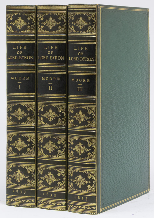 Letters and Journals of Lord Byron: with: Byron, Lord) Moore,