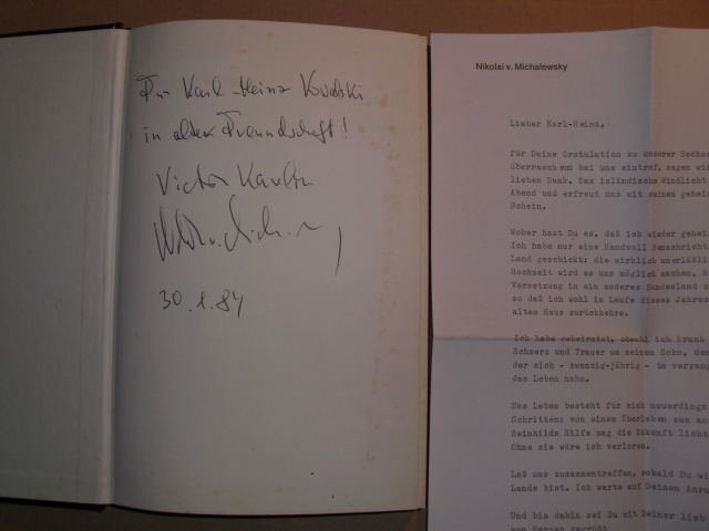 Damals IN BUDAPEST Das Buch Von Raoul Wallenberg - Karelin, Victor (d. ist Nikolai v. Michalewsky)