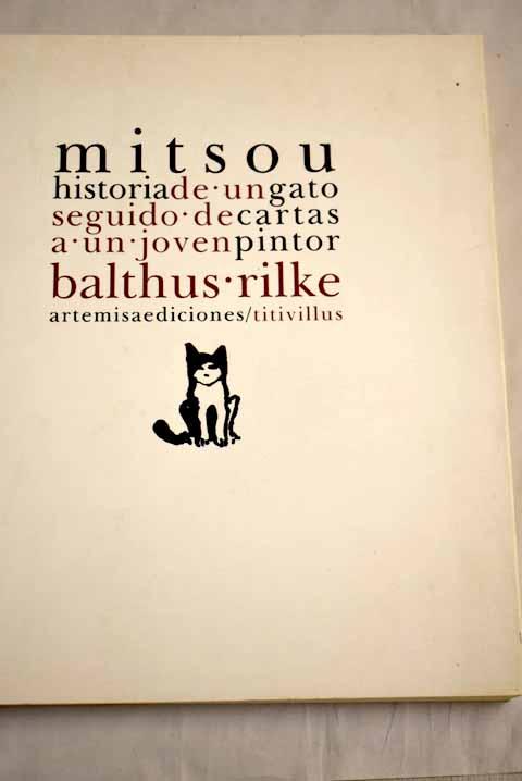 Mitsou: historia de un gato - Balthus