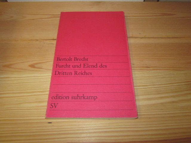 Furcht und Elend des Dritten Reiches: Brecht, Bertolt: