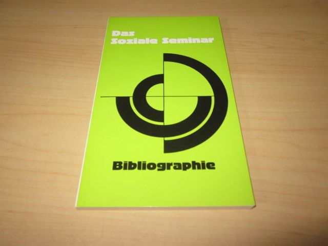 Das Soziale Seminar. Bibliographie: o. A.: