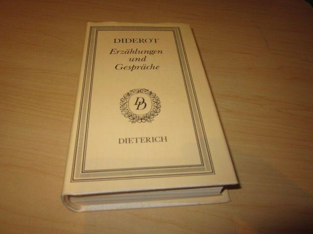 Erzählungen und Gespräche: Diderot, Denis: