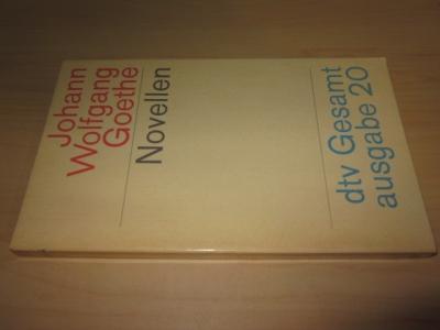 Novellen: Goethe, Johann Wolfgang