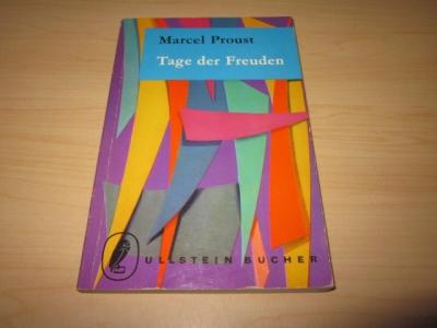 Tage der Freuden: Proust, Marcel: