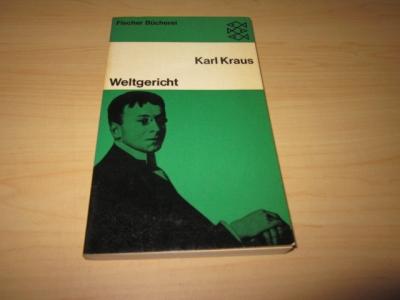 Weltgericht: Kraus, Karl: