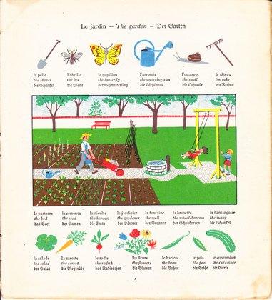 Das kleine Bilderlexikon. Le Petit Dictionnaire en: Ehmcke, Susanne: