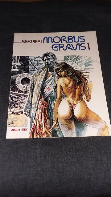 Morbus Gravis [ Stated First Edition, First Printing ] - Serpieri, Paolo E. [ Translated by Tom Leighton ]