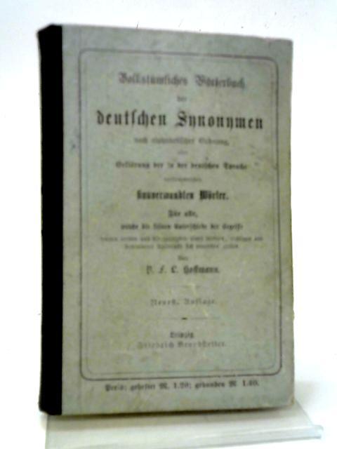 Worterbuch der Deutschen Synonymen: P. F. L.