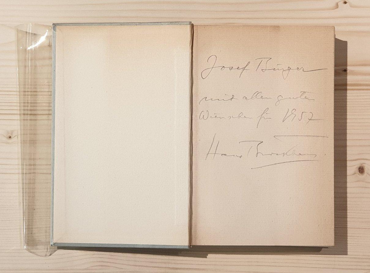 Sven Hedin und Albert Brockhaus. Ein Briefwechsel.: Hedin, Sven und