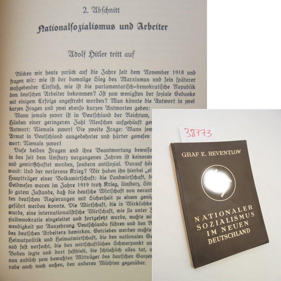 Nationaler Sozialismus im neuen Deutschland: Graf Ernst Reventlow: