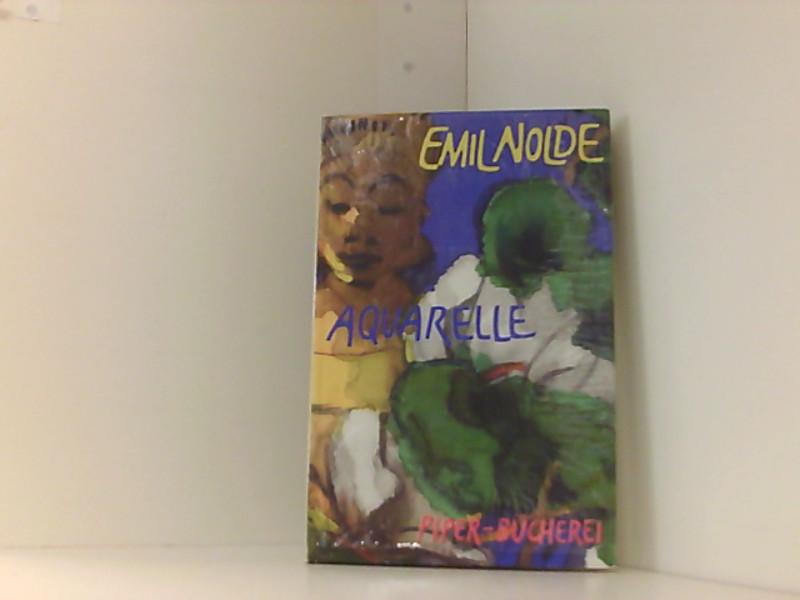 Aquarelle: Nolde, Emil: