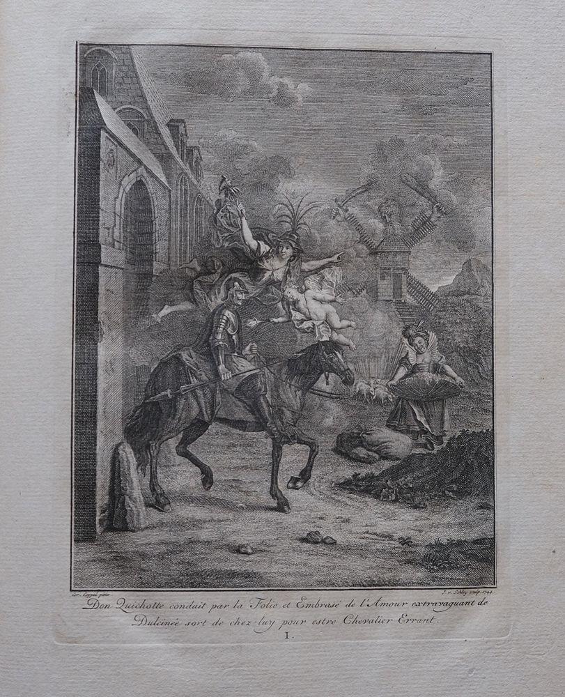 ALBUM DE DON QUICHOTTE (Don Quixote).: CERVANTES SAAVEDRA, MIGUEL