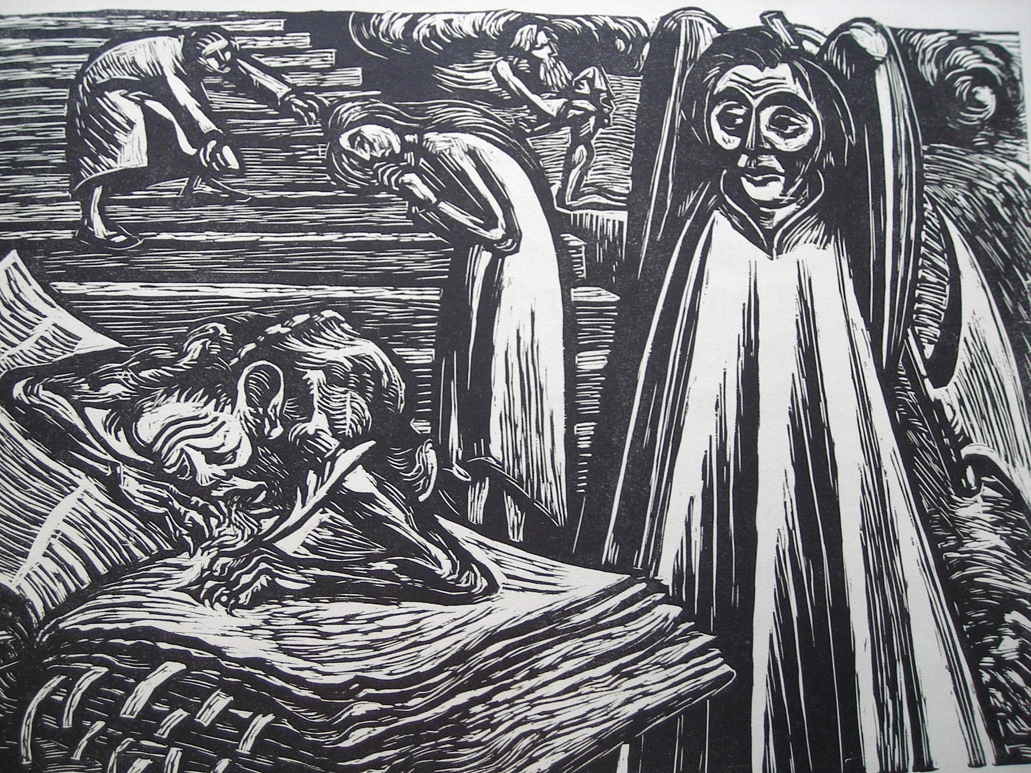 An die Freude. Mit 9 Holzschnitten. Exemplar: Schiller, Friedrich/ Ernst