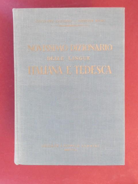 Wörterbuch der deutschen und italienischen Sprache. In: Lazzioli, Costante, Giuseppe