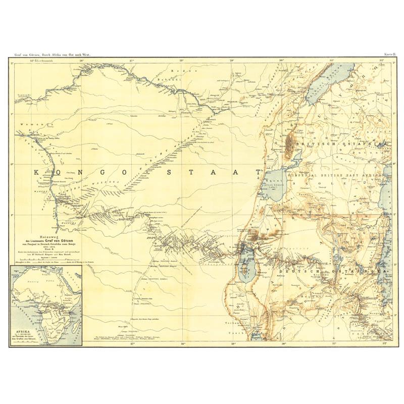Durch Afrika von Ost nach West -: Götzen, Gustav Adolf
