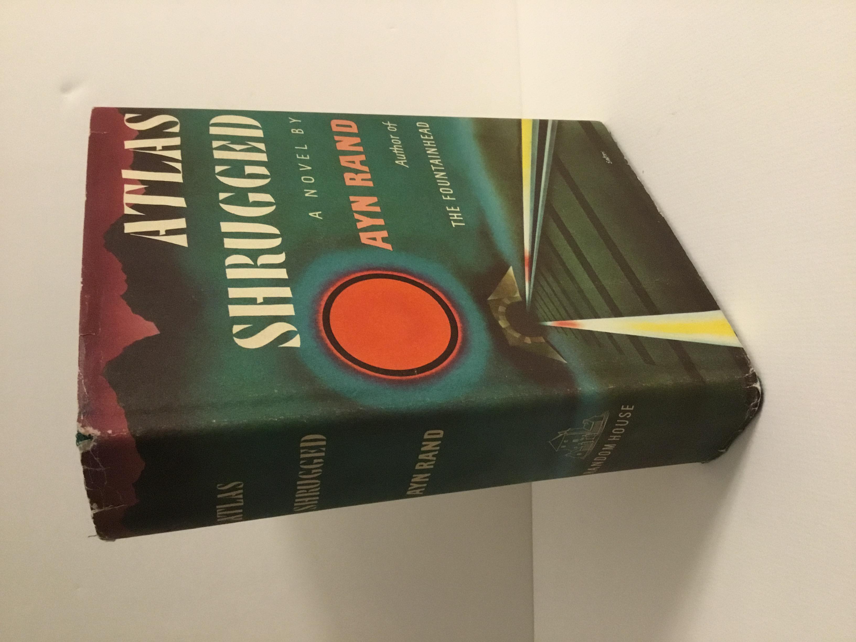 Atlas Shrugged by Rand, Ayn: Near Fine Hardcover (1957