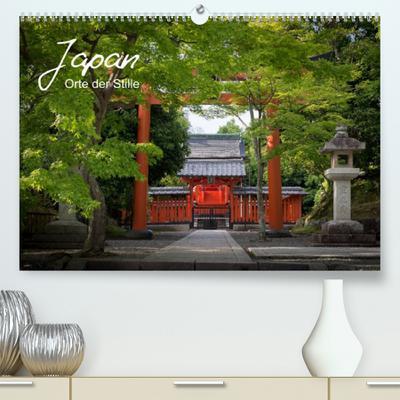 Japan - Orte der Stille (Premium, hochwertiger DIN A2 Wandkalender 2022, Kunstdruck in Hochglanz) : Eine Reise zu besinnlichen Orten innerhalb Japans (Monatskalender, 14 Seiten ) - Nina Karin Neumann