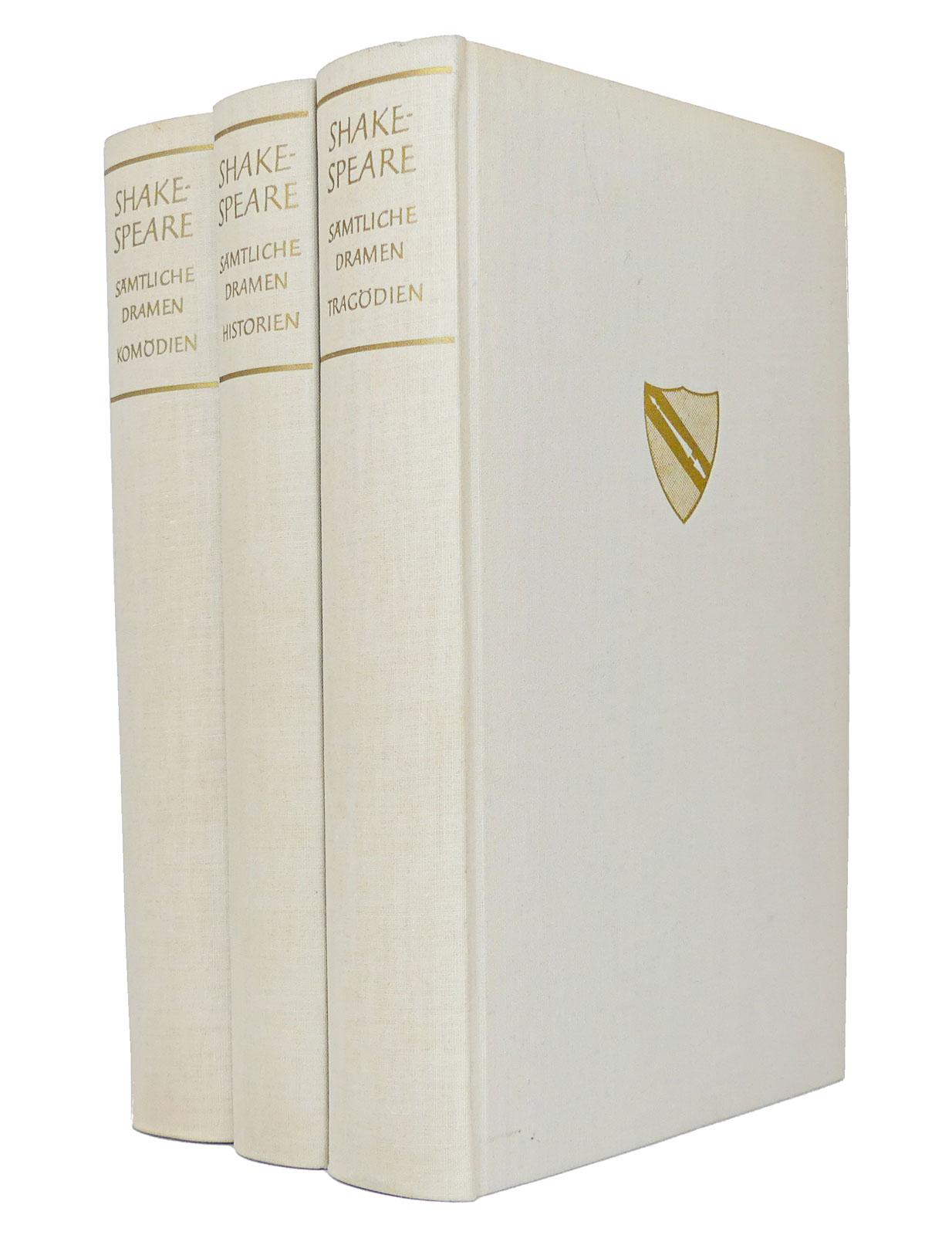 Shakespeare - Sämtliche Dramen (alle drei Bände): Shakespeare, William; Schlegel,