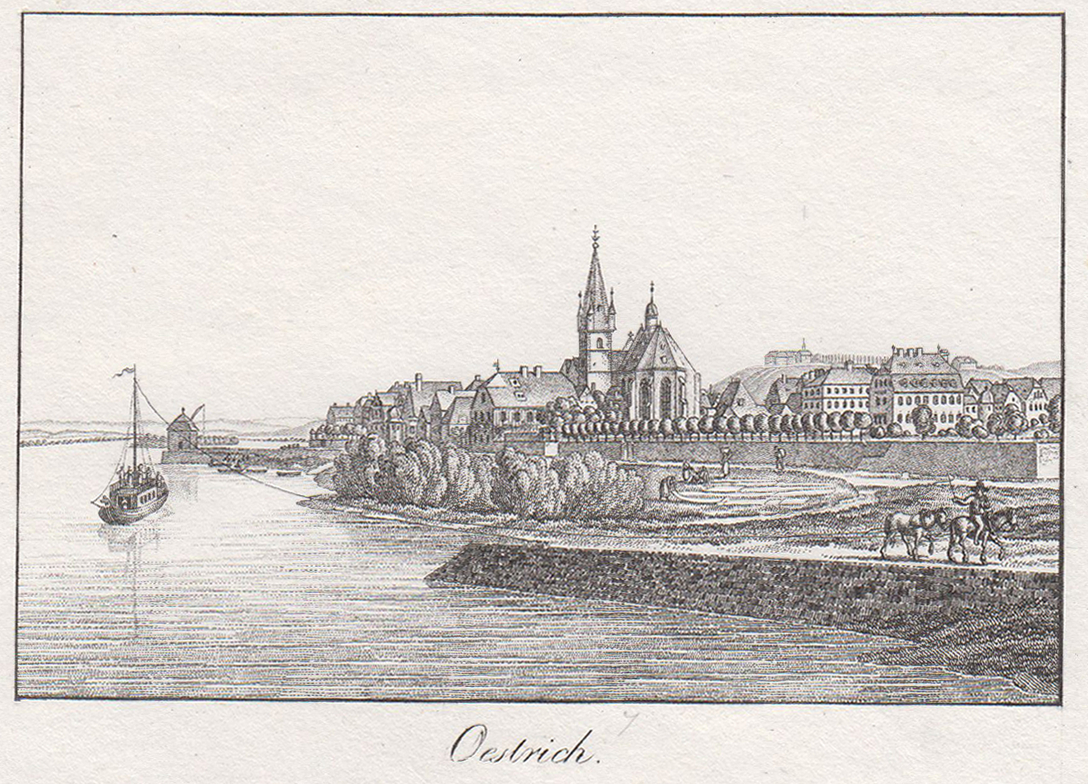 """Gesamtans., """"Oestrich"""".: Oestrich - Winkel:"""