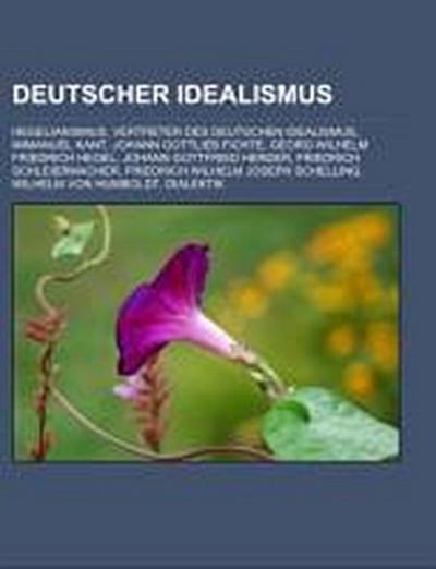 Deutscher Idealismus - Quelle