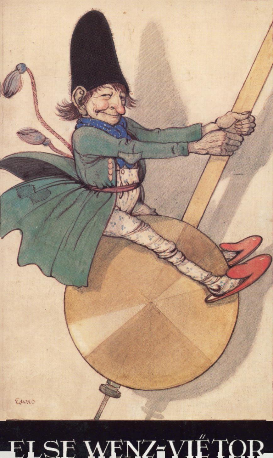 Else Wenz-Viétor Aquarelle - Federzeichnungen - Bleistiftskizzen: Internationale Jugendbibliothek, München,: