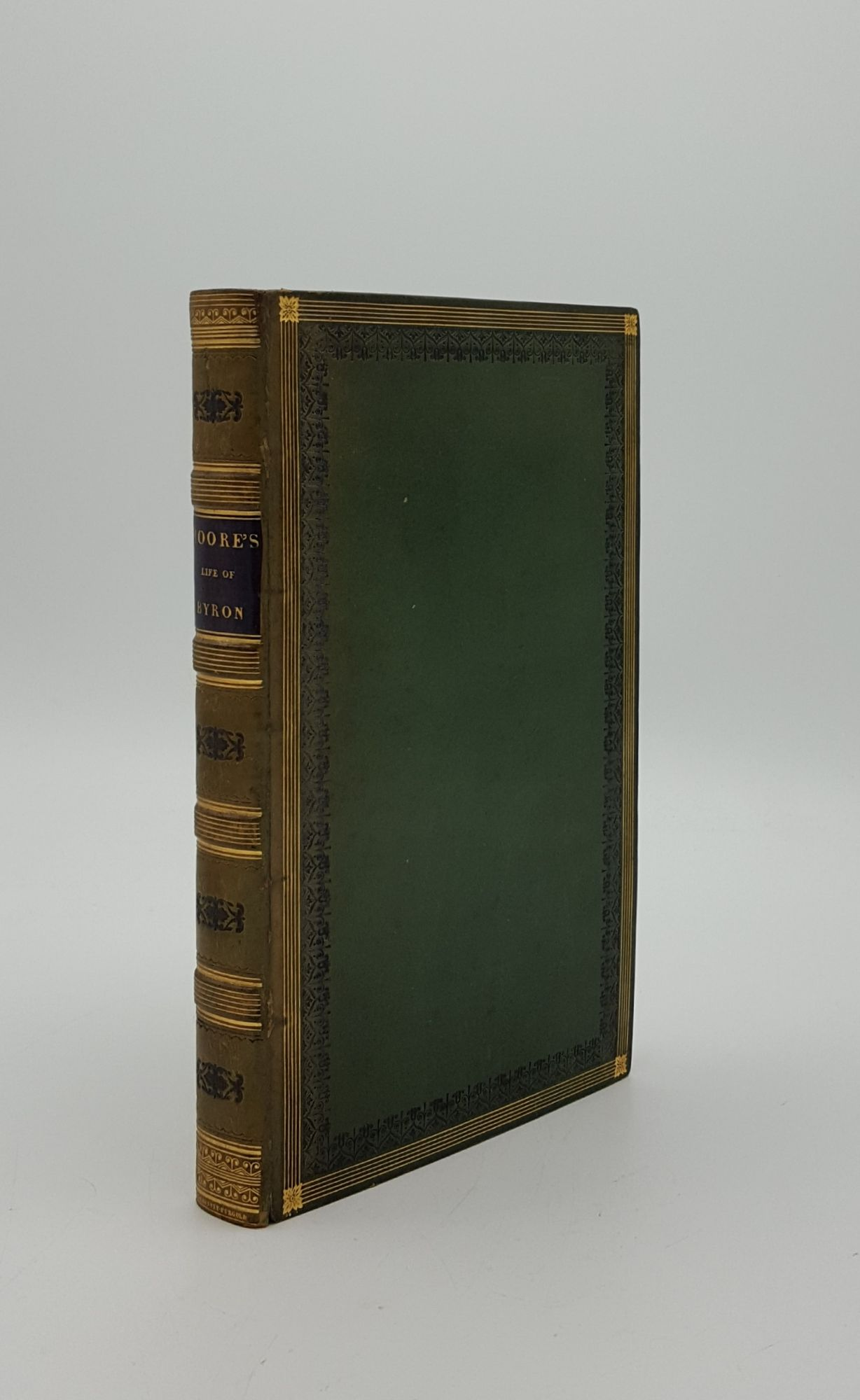 LETTERS AND JOURNALS OF LORD BYRON With: MOORE Thomas