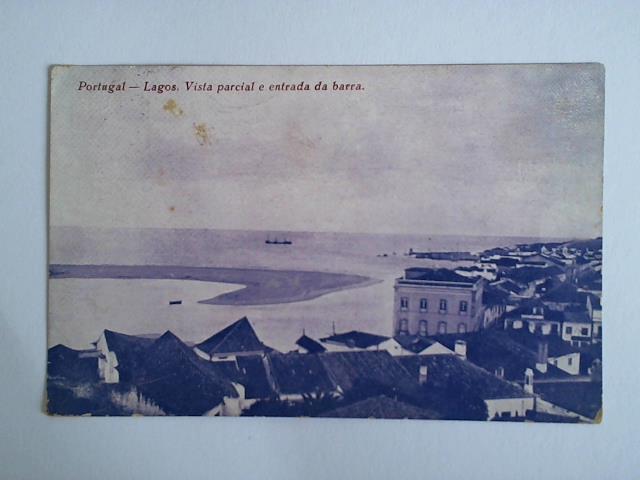 1 Ansichtskarte: Portugal - Lagos. Vista parcial: Portugal)