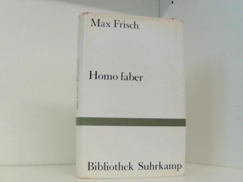 Homo faber: Frisch, Max: