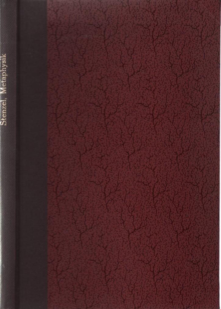 Metaphysik des Altertums. Handbuch der Philosophie. Sonderausgabe.: Stenzel, Julius: