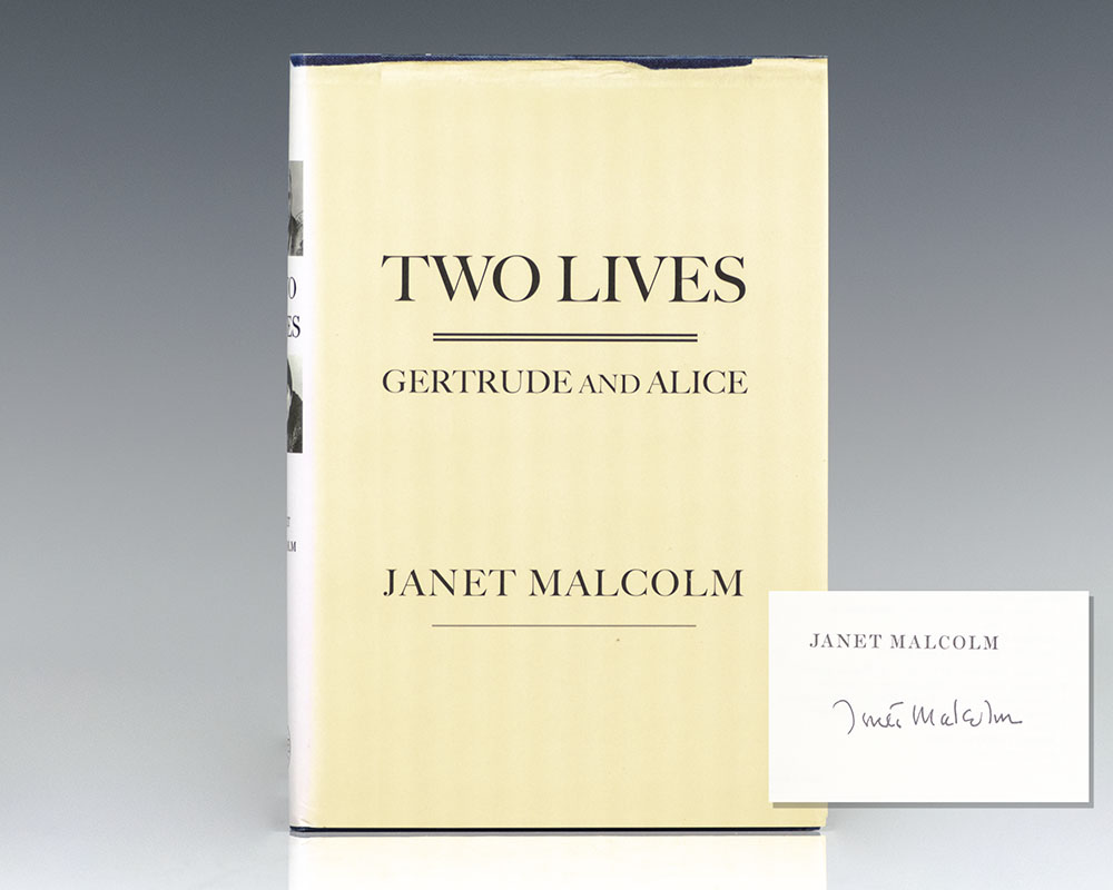 Two Lives: Gertrude and Alice. - Malcolm, Janet