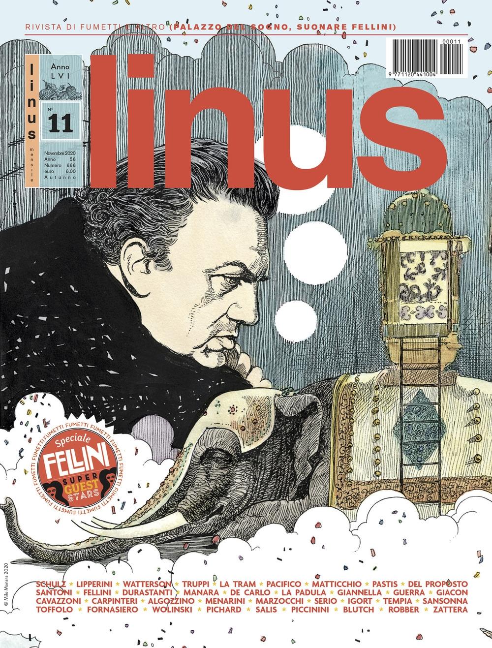 Linus (2020). Vol. 11