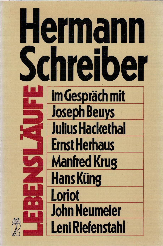 Lebensläufe - Hermann Schreiber