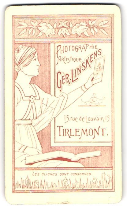Fotografie G. Linskens, Tirlemont, 13 Rue de