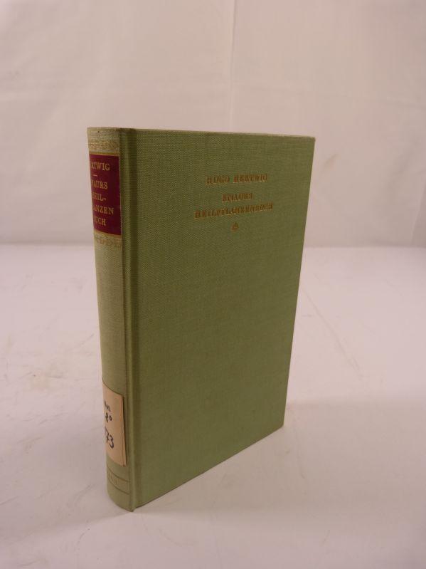 Knaurs Heilpflanzenbuch. Ein Hausbuch der Naturheilkunde. - Hertwig, Hugo,