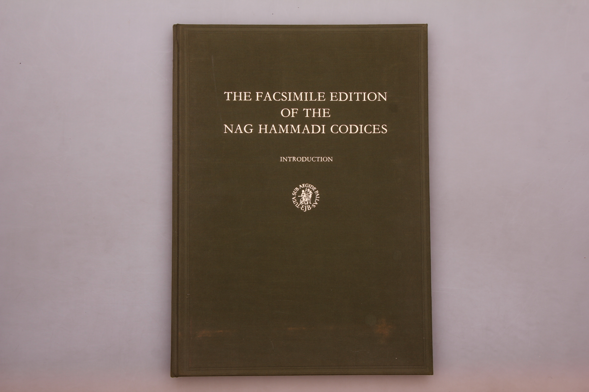 THE FACSIMILE EDITION OF THE NAG HAMMADI CODICES. Introduction