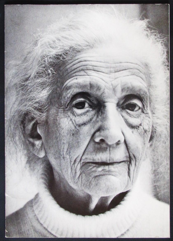 Menschen von gestern und heute, Fotografische Portraits, Skizzen und Dokumentationen von Lotte Jacobi. - Steinert, Otto