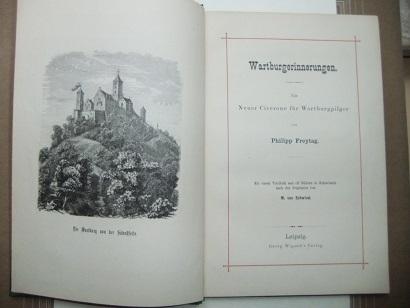 Wartburgerinnerungen. Ein neuer Cicerone für Wartburgpilger.: FREYTAG Philipp.: