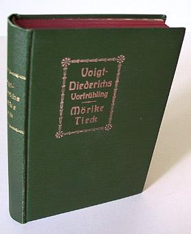 Vorfrühling. Fünf ausgewählte Novellen von Helene Voigt-Dietrichs.: Voigt-Dietrichs, Helene. /